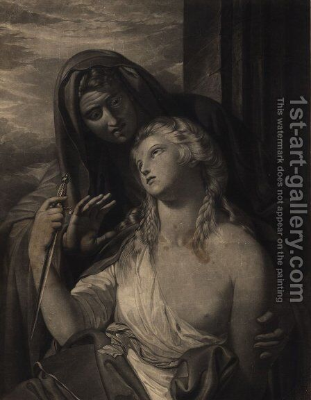 Paetus and Arria by Benjamin West - Reproduction Oil Painting