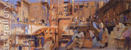 Work by Henri Martin - Reproduction Oil Painting