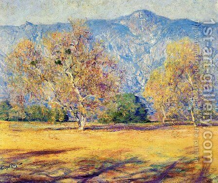 The Sycamores, Pasadena by Guy Rose - Reproduction Oil Painting