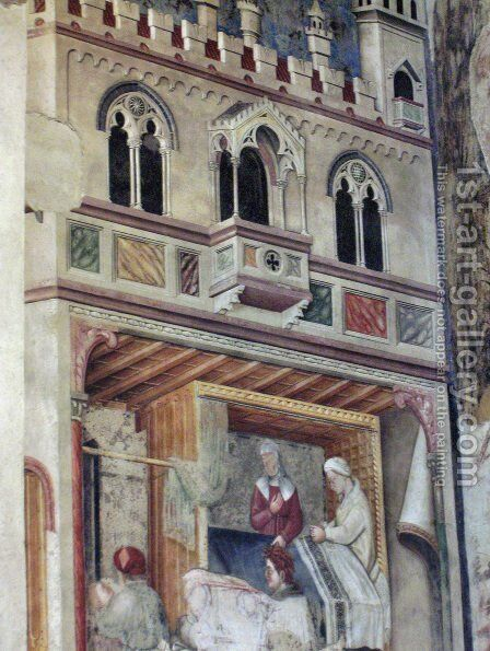 loggia the founding of rome 2 painting by gentile da fabriano
