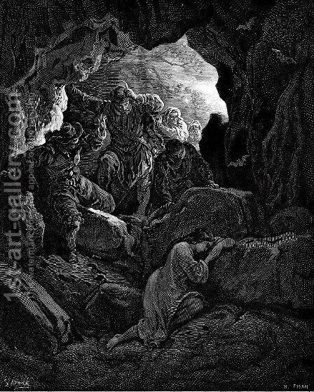 Don Quixote 33 by Gustave Dore - Reproduction Oil Painting