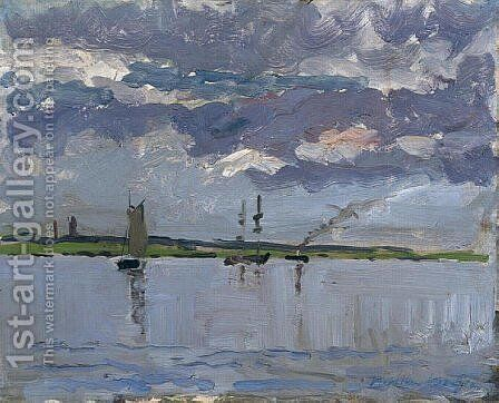 Banks of Loire by Maxime Maufra - Reproduction Oil Painting