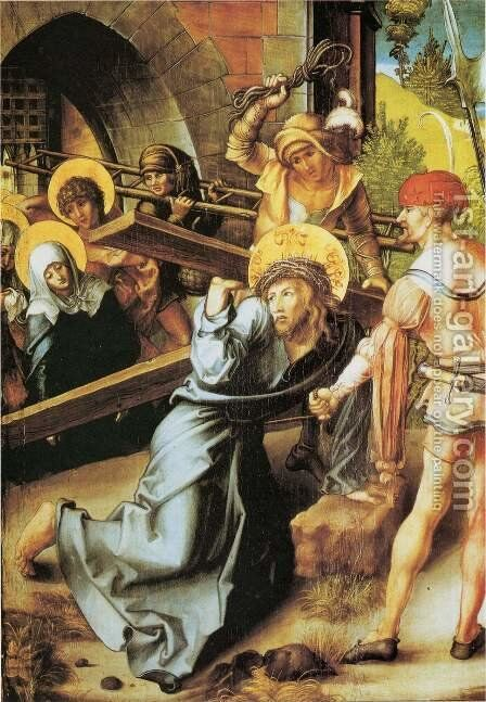 The Cross by Albrecht Durer - Reproduction Oil Painting