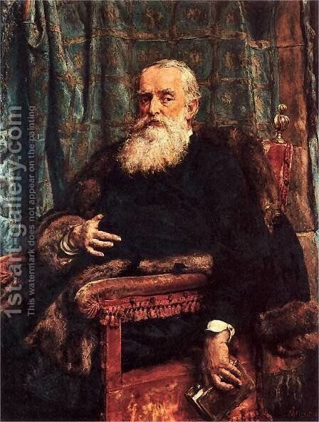 Henryk Krajewski by Jan Matejko - Reproduction Oil Painting