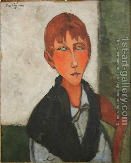 The Mistress by Amedeo Modigliani - Reproduction Oil Painting