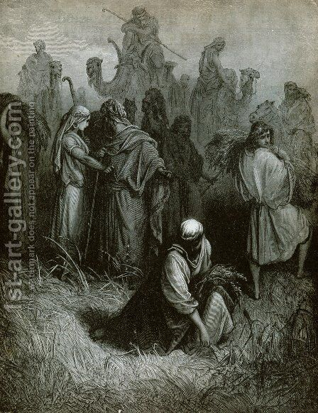 The Gleaners by Gustave Dore - Reproduction Oil Painting