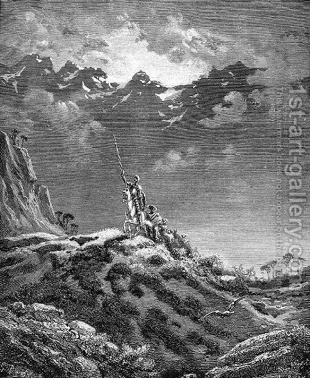 Don Quixote 34 by Gustave Dore - Reproduction Oil Painting