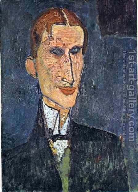 Unknown 3 by Amedeo Modigliani - Reproduction Oil Painting