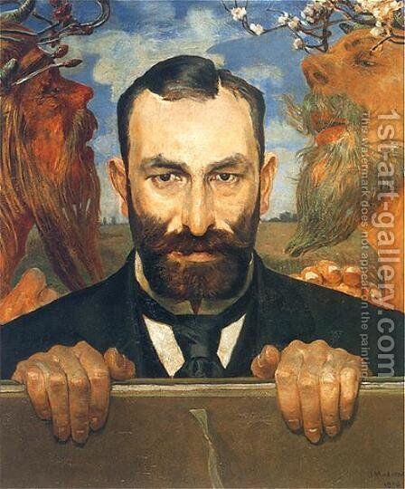 Unknown 5 by Jacek Malczewski - Reproduction Oil Painting