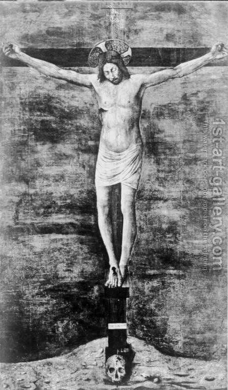 Crucifix 4 by Giovanni Bellini - Reproduction Oil Painting