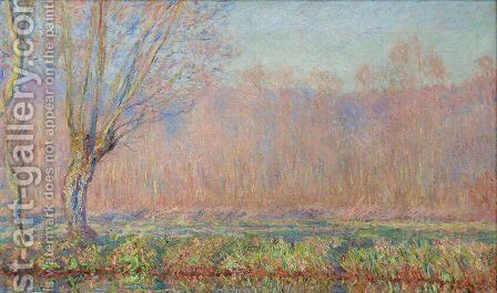 The Willows by Claude Oscar Monet - Reproduction Oil Painting