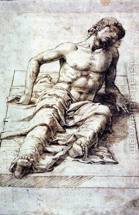 Study for a Christ by Andrea Mantegna - Reproduction Oil Painting