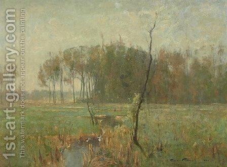 Summer Mist by Emil Carlsen - Reproduction Oil Painting