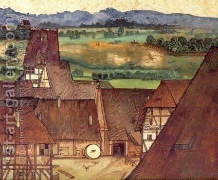 The Trefileria on Peignitz 2 by Albrecht Durer - Reproduction Oil Painting