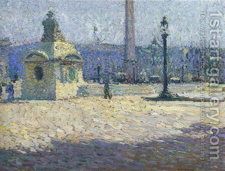 Concorde Square by Henri Martin - Reproduction Oil Painting