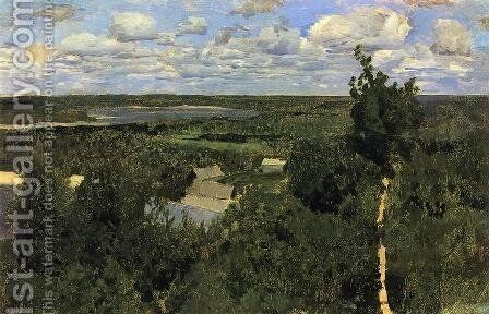 Wassylsursk by Isaak Ilyich Levitan - Reproduction Oil Painting