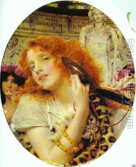 Bacchante by Sir Lawrence Alma-Tadema - Reproduction Oil Painting