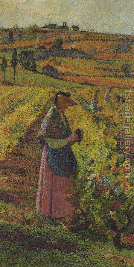 The Harvest by Henri Martin - Reproduction Oil Painting