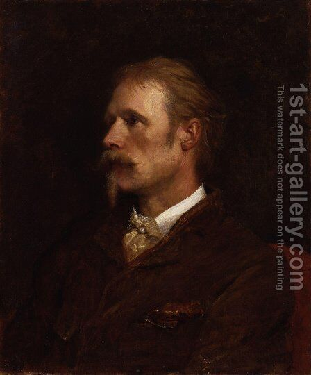Walter Crane by George Frederick Watts - Reproduction Oil Painting