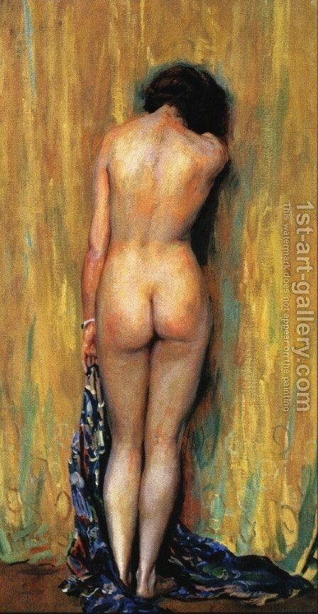Standing Nude by Guy Rose - Reproduction Oil Painting
