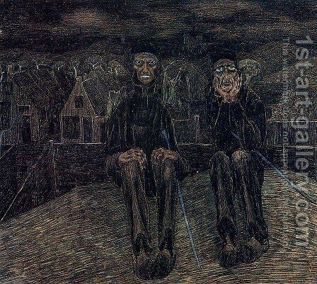 Fatalism by Jan Toorop - Reproduction Oil Painting