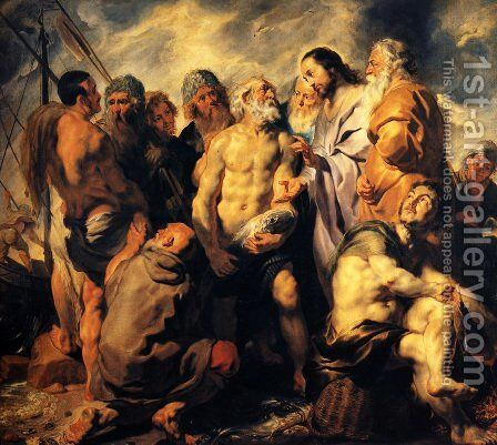 The mission of St. Peter by Jacob Jordaens - Reproduction Oil Painting