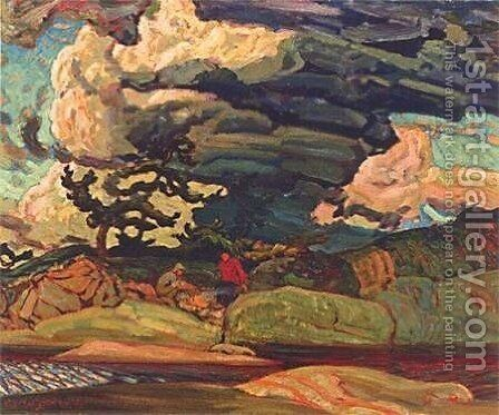 The Elements by James Edward Hervey MacDonald - Reproduction Oil Painting
