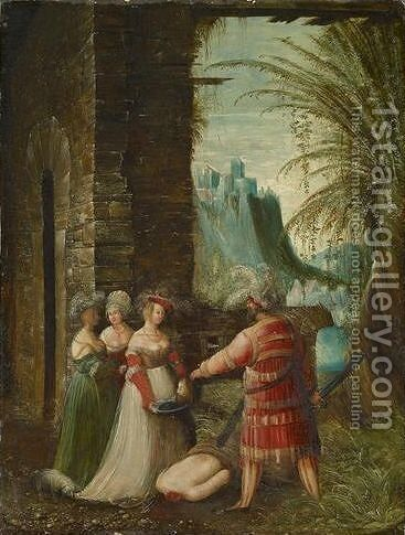 Beheading of John the Baptist by Albrecht Altdorfer - Reproduction Oil Painting