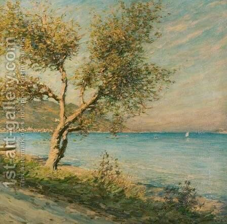 The Mulberry Tree by Henry Herbert La Thangue - Reproduction Oil Painting
