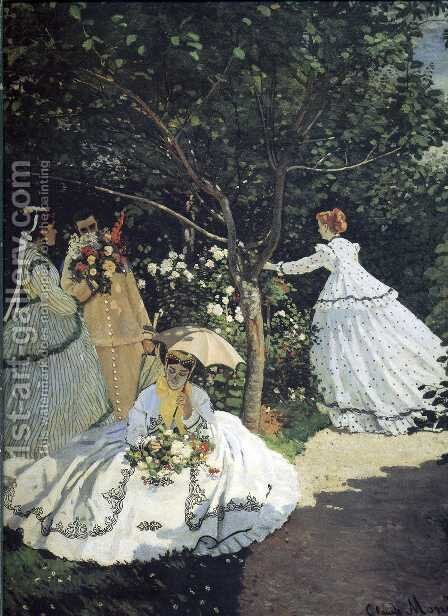 Unknown 6 by Claude Oscar Monet - Reproduction Oil Painting