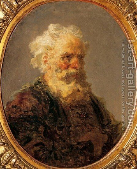 Unknown 8 by Jean-Honore Fragonard - Reproduction Oil Painting