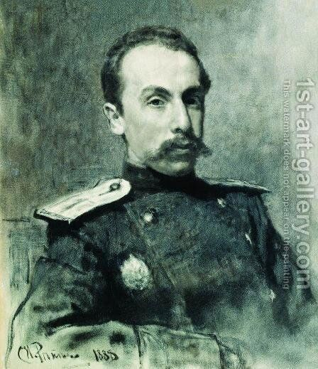 Portrait of A.V. Zhirkevich by Ilya Efimovich Efimovich Repin - Reproduction Oil Painting
