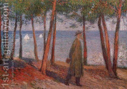 Philosopher by Henri Martin - Reproduction Oil Painting