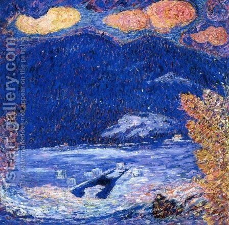 The Ice Hole by Marsden Hartley - Reproduction Oil Painting