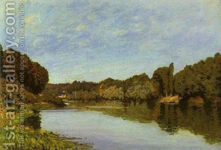 Unknown 2 by Alfred Sisley - Reproduction Oil Painting