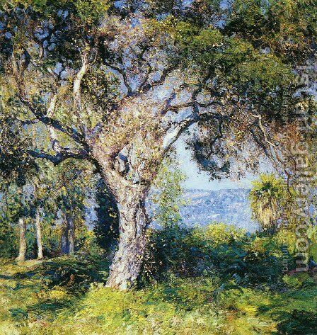 The Oak by Guy Rose - Reproduction Oil Painting
