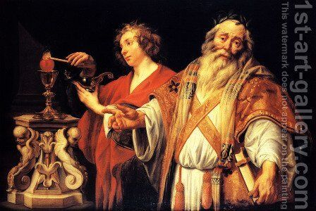 Religious allegory by Jacob Jordaens - Reproduction Oil Painting