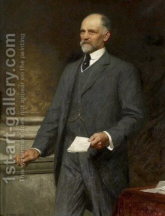 Thomas Ferens by Sir Frank Dicksee - Reproduction Oil Painting
