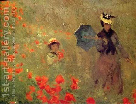 Unknown 7 by Claude Oscar Monet - Reproduction Oil Painting