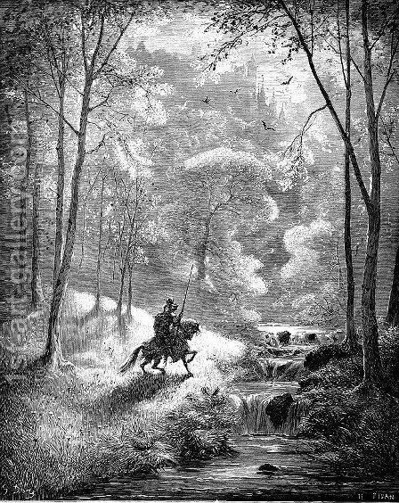 Don Quixote 42 by Gustave Dore - Reproduction Oil Painting