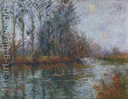 By the Eure River 2 by Gustave Loiseau - Reproduction Oil Painting