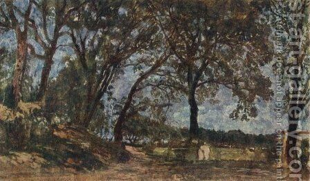 Landscape in Albano by Alexander Ivanov - Reproduction Oil Painting