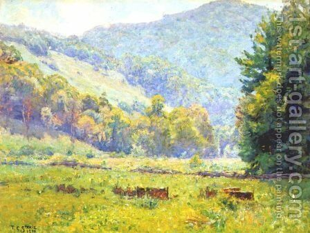Whitewater Valley by Theodore Clement Steele - Reproduction Oil Painting