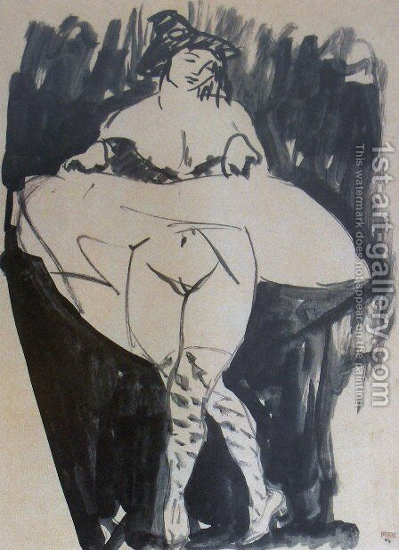 Dancer by Amedeo Modigliani - Reproduction Oil Painting