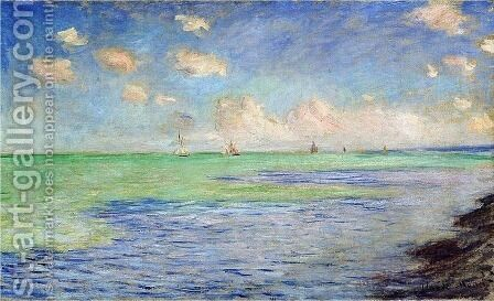 The Sea at Pourville by Claude Oscar Monet - Reproduction Oil Painting