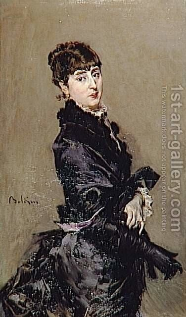 Portrait of Cecilia de Madrazo by Giovanni Boldini - Reproduction Oil Painting