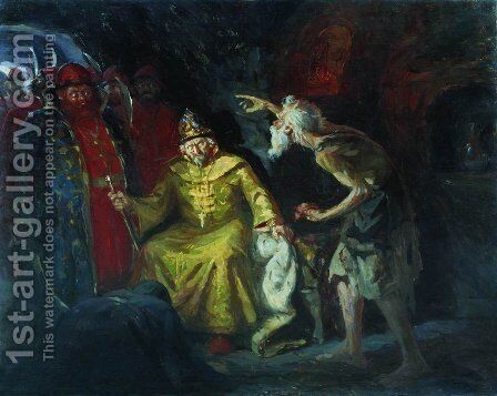 Ivan the Terrible by Andrei Petrovich Ryabushkin - Reproduction Oil Painting