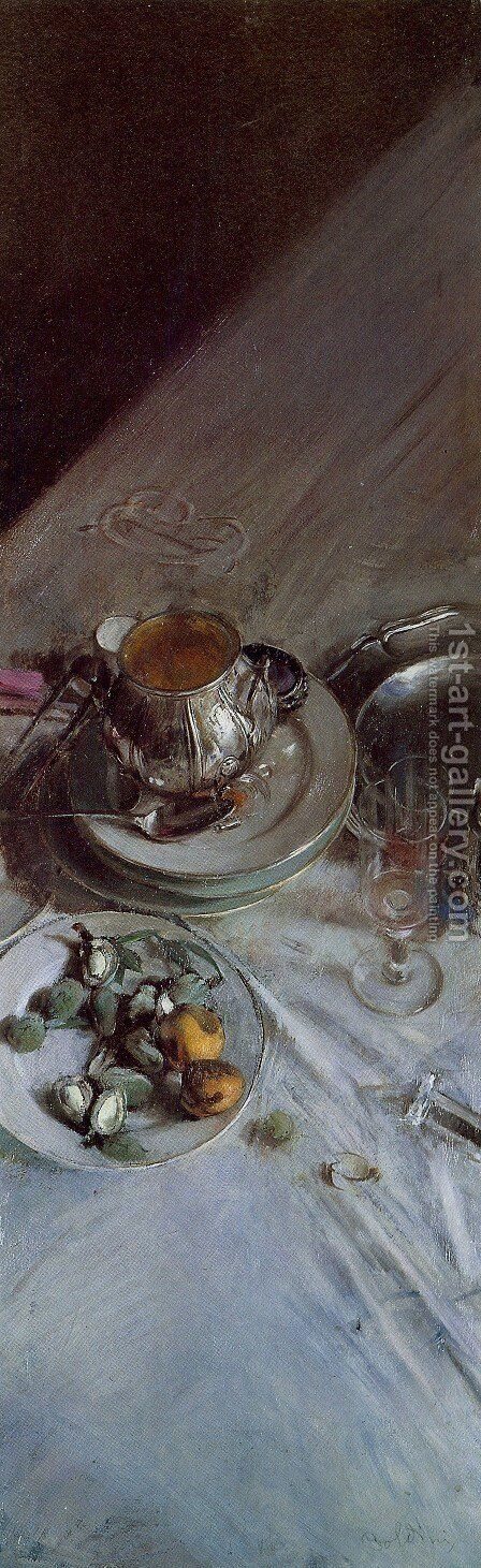 Corner of Painter's Table by Giovanni Boldini - Reproduction Oil Painting