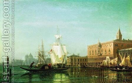 Venice by Aleksei Petrovich Bogolyubov - Reproduction Oil Painting