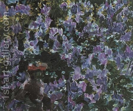 Lilacs by Mikhail Aleksandrovich Vrubel - Reproduction Oil Painting